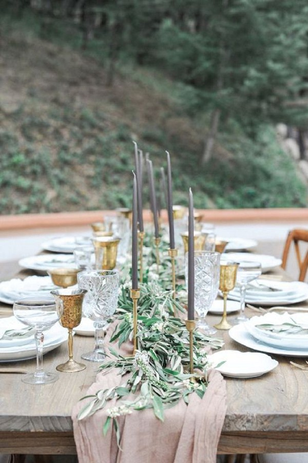 Grey French Chic Wedding