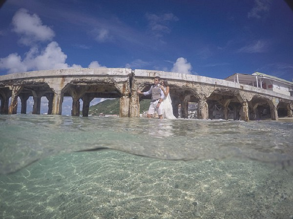 In The Sea Wedding Pictures