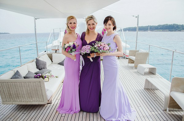 Luxury Cannes Yacht Wedding