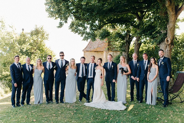 Luxury bridal party
