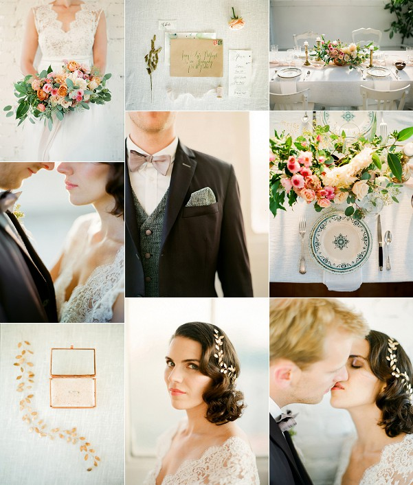Paris Love Story Rustic Wedding Inspiration Snapshot