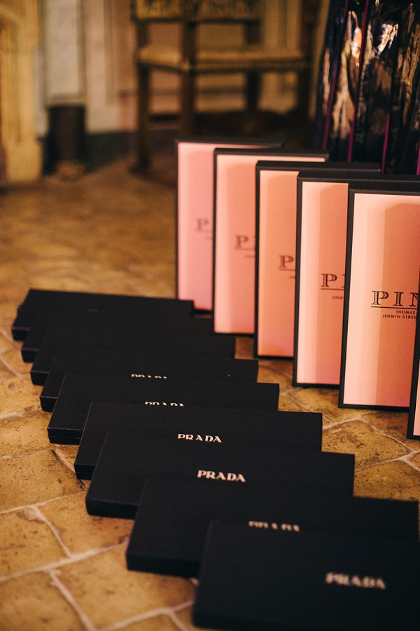 Prada bridesmaid gifts