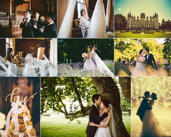 Wanderlust Inspired Chateau de Challain Wedding Snapshot