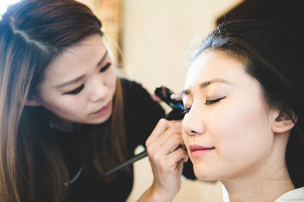 french wedding make up artist