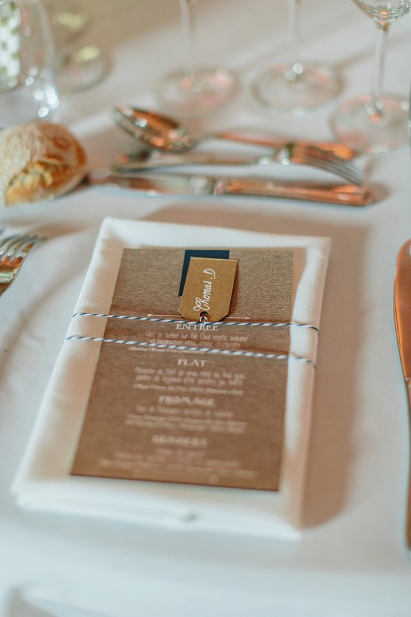 rustic chic wedding stationary