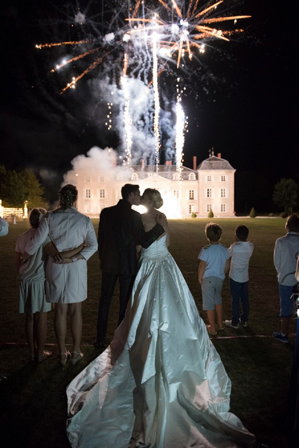 wedding day fireworks