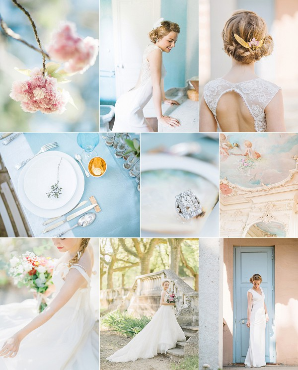 Fine Art Villa Bagatelle Wedding Inspiration Snapshot