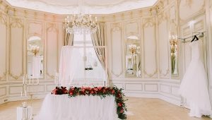 Pavillon Royal bridal suite