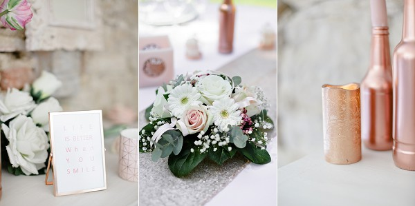 Rose Gold Styled Shoot