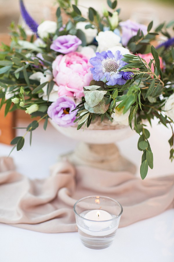 french inspired wedding flowers