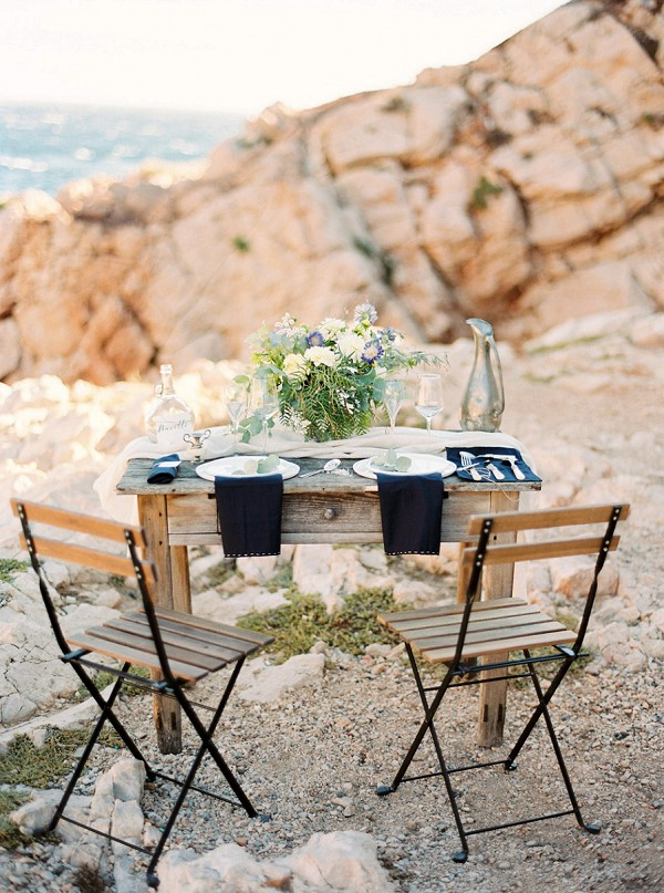 intimate seaside wedding
