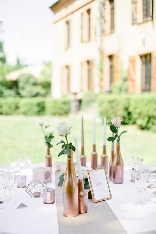 outdoor french wedding breakfast