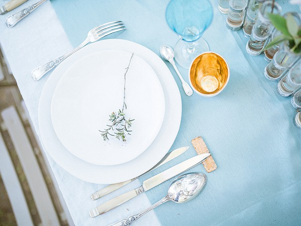 simple wedding table