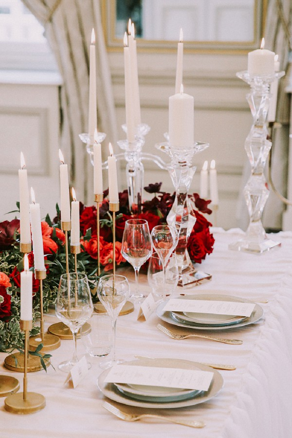 stylish paris wedding