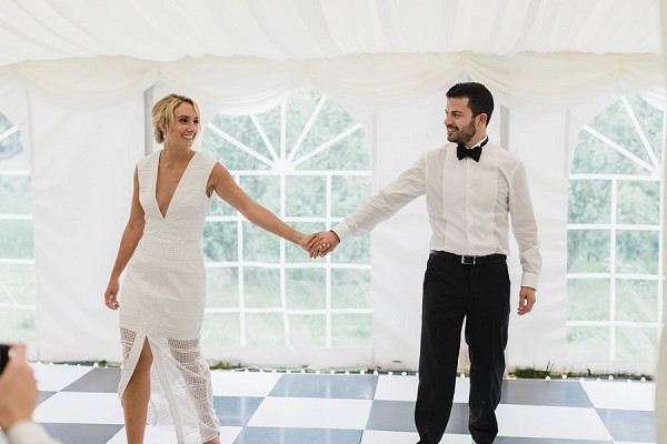 stylish wedding dance