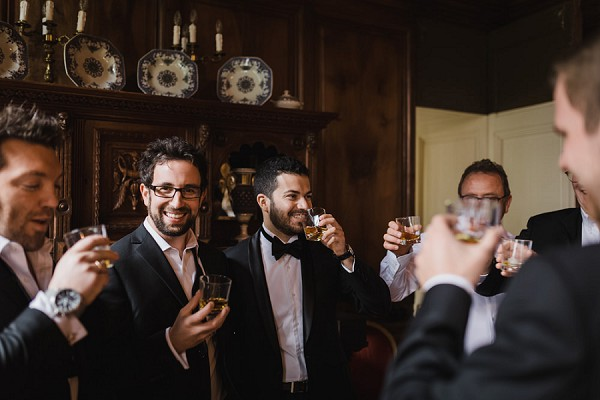 whiskey groomsmen