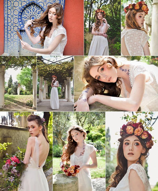Flower Inspired Montpellier Wedding Shoot Snapshot