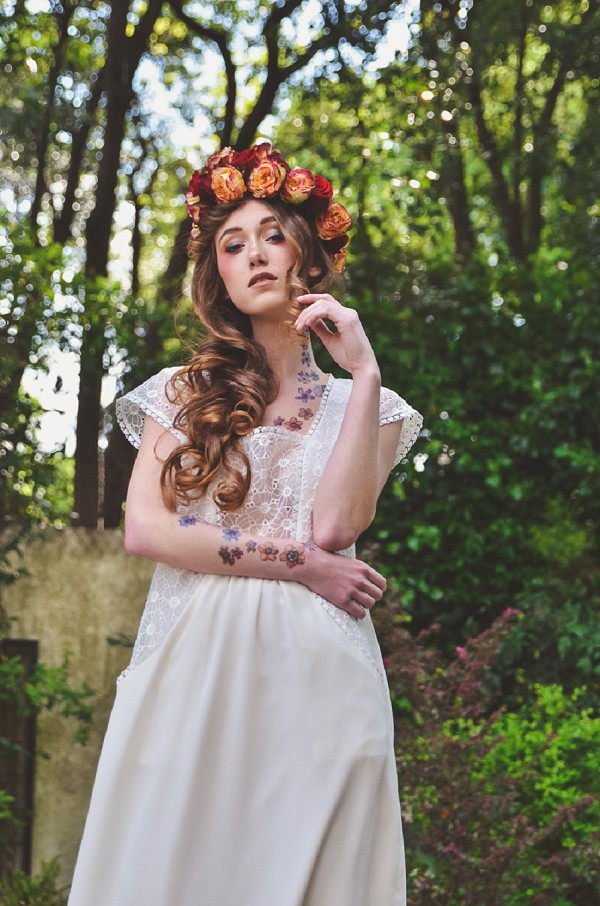 Flower Inspired Montpellier Wedding Shoot