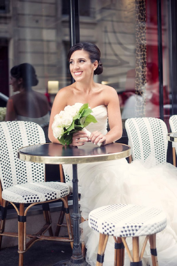 Paris wedding portrait