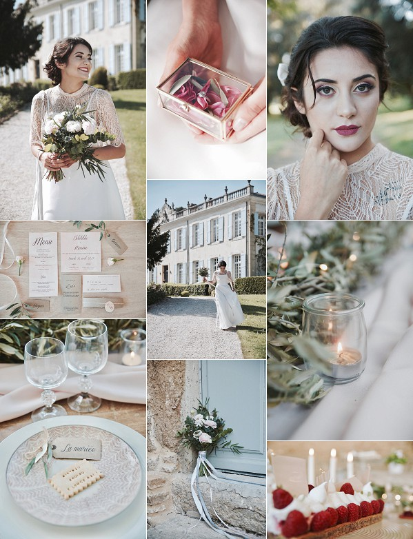 Provence Inspired Château Beauchêne Styled Shoot Snapshot