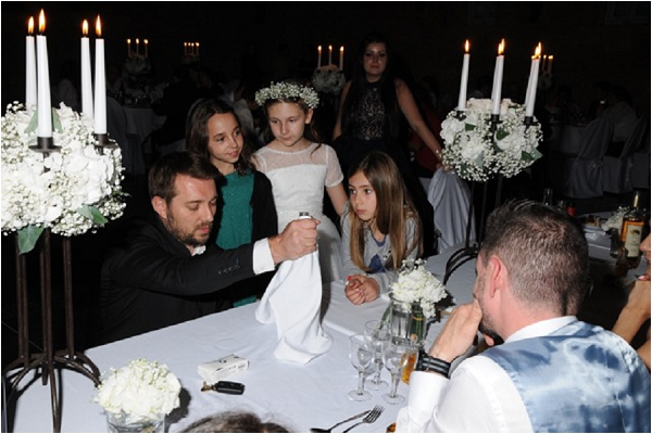 Top Class Wedding Magician Herve Troccaz in France
