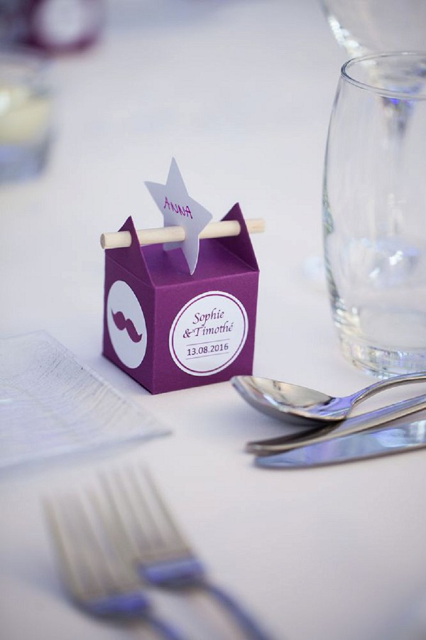 homemade wedding favour