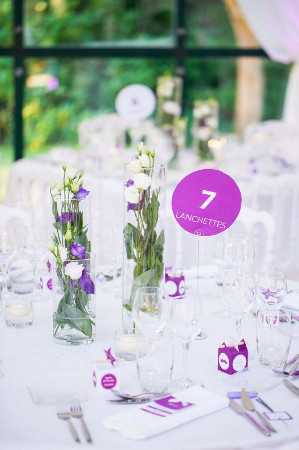 tall jar wedding centerpiece