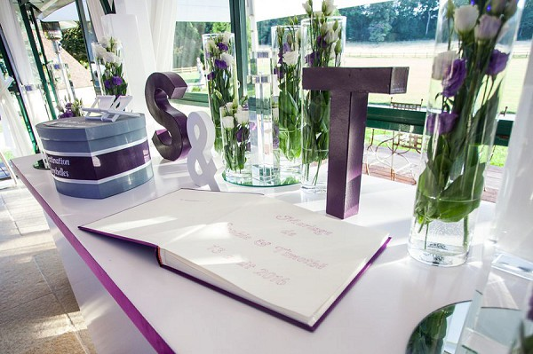 wedding day guest book
