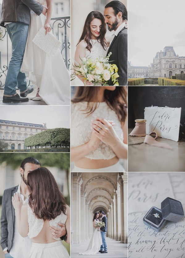 A Simple Yet Utterly Romantic Parisian Elopement Snapshot