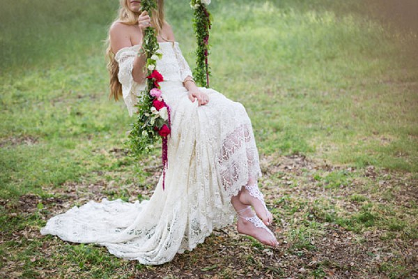 Boho French Wedding