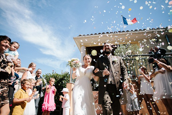 DIY French wedding