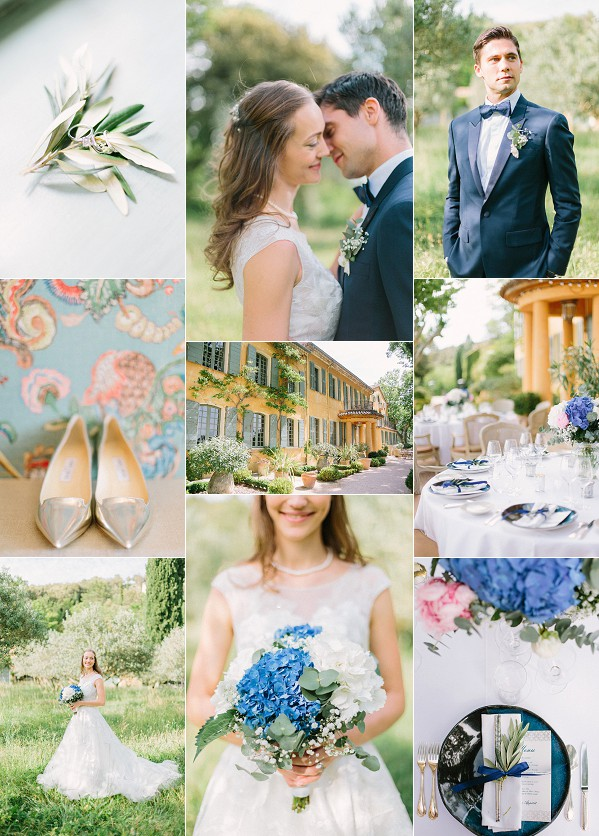 Elegant Domaine de la Baume Real Wedding Snapshot