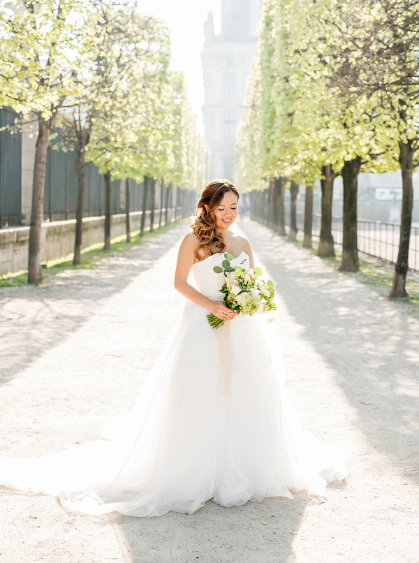 Elegant Paris Bride