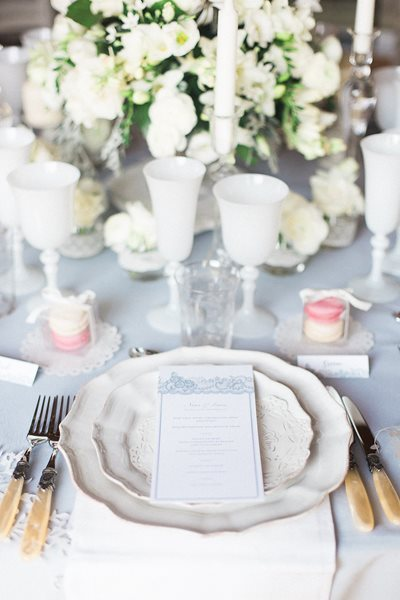 Elian Concept Weddings French Weddings Lace Tablescape