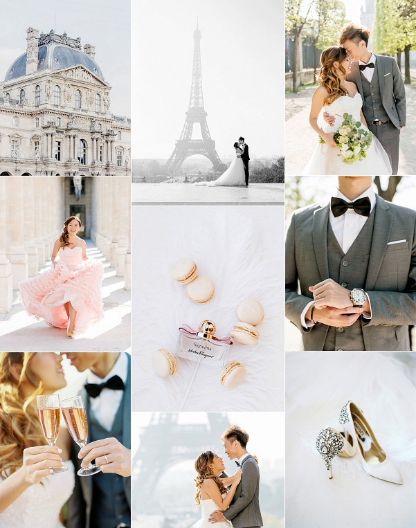 Hong Kong To Paris Hotel Raphael Elopement Snapshot