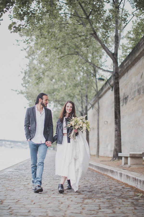 Relaxed Paris Elopement