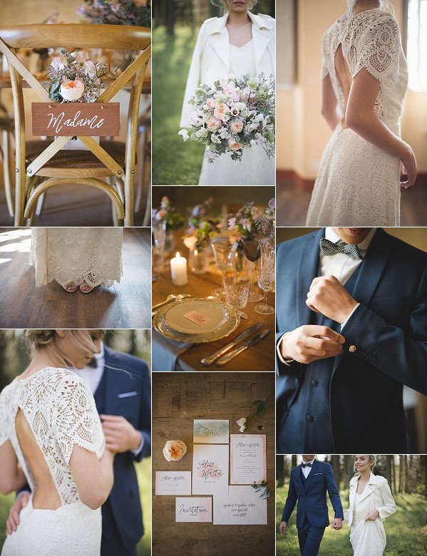 Rustic French Wedding Inspiration Shoot Snapshot