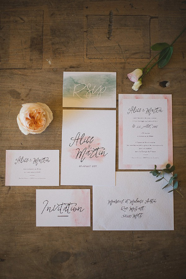 Rustic Wedding Invite Suite
