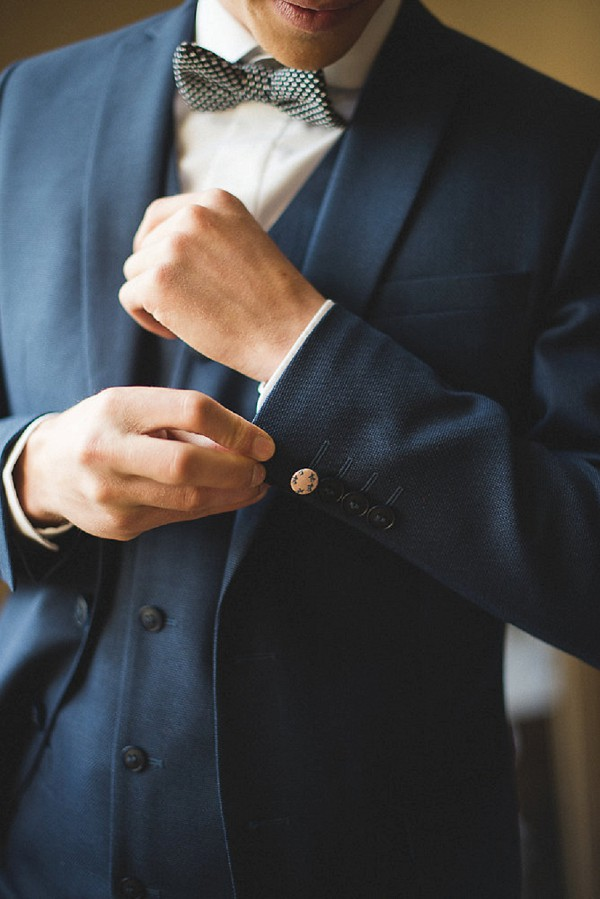 dark navy suit