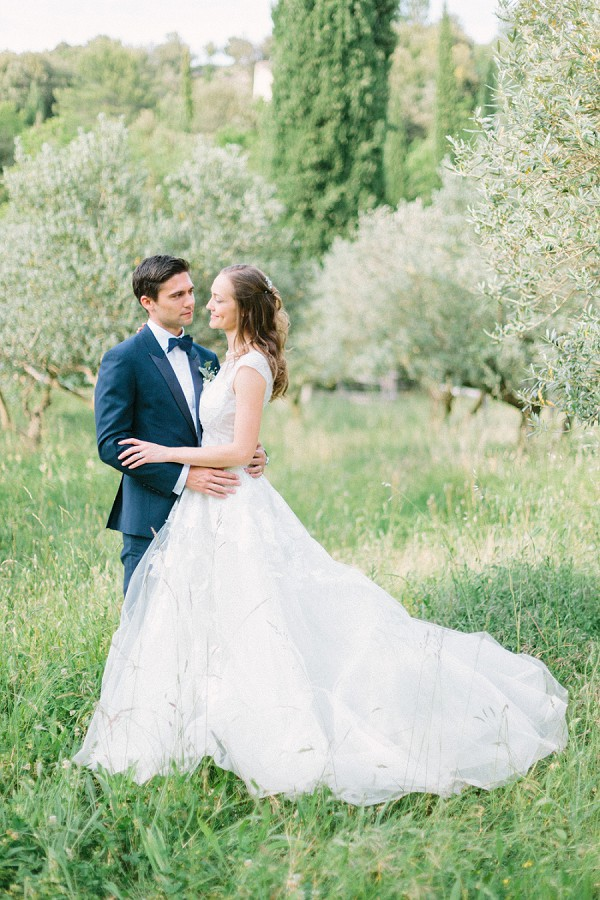 outdoor provence wedding