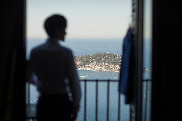 french riviera getting ready wedding day