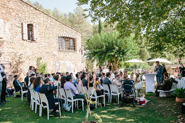 outdoor french ceremony