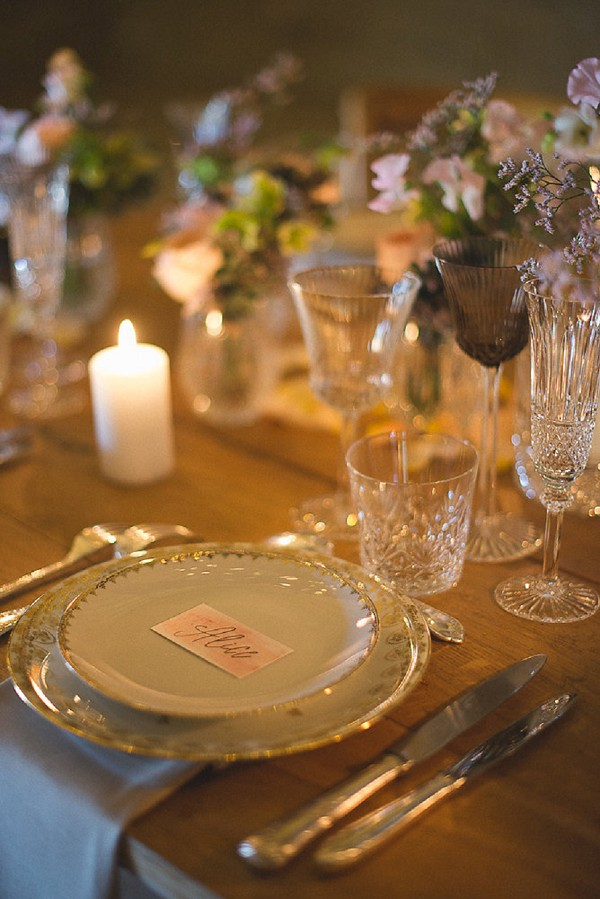 rustic french tablescape