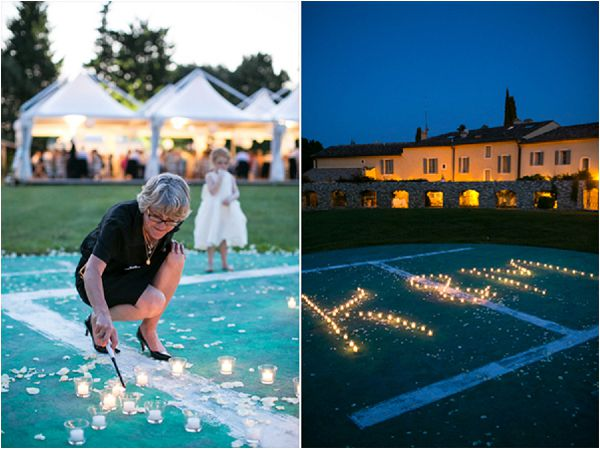 French wedding lighting ideas planning