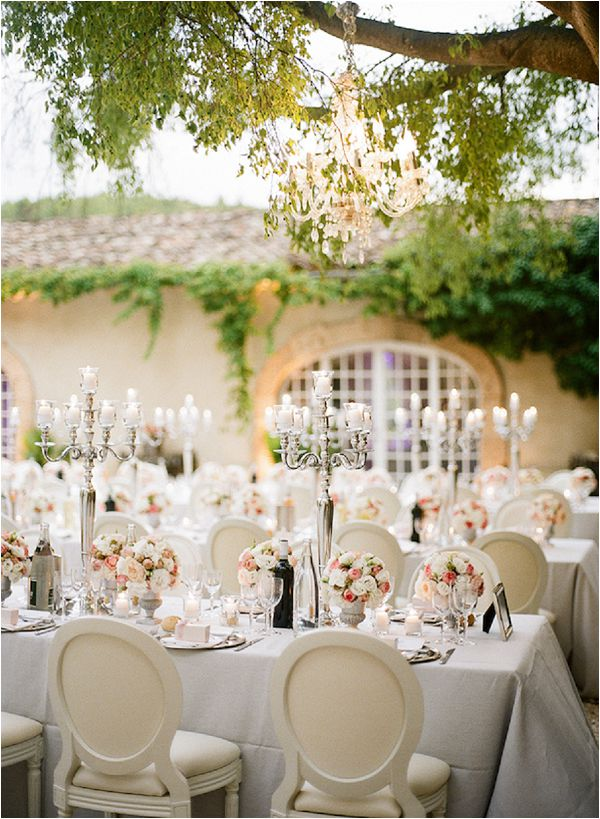 French wedding lighting ideas chandeliers