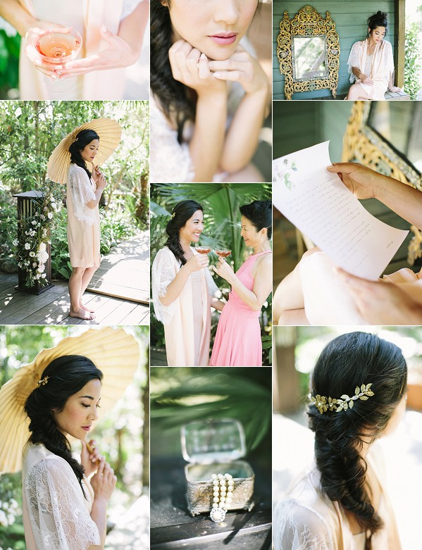 Chinese Inspired Bridal Boudoir In Provence Snapshot