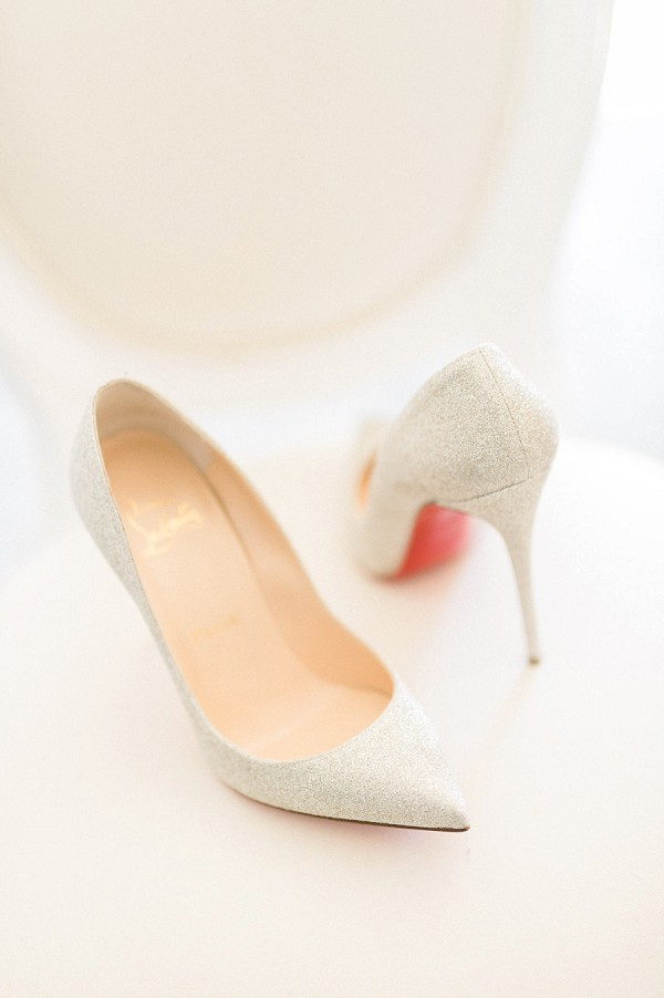 Christian Louboutin wedding heels