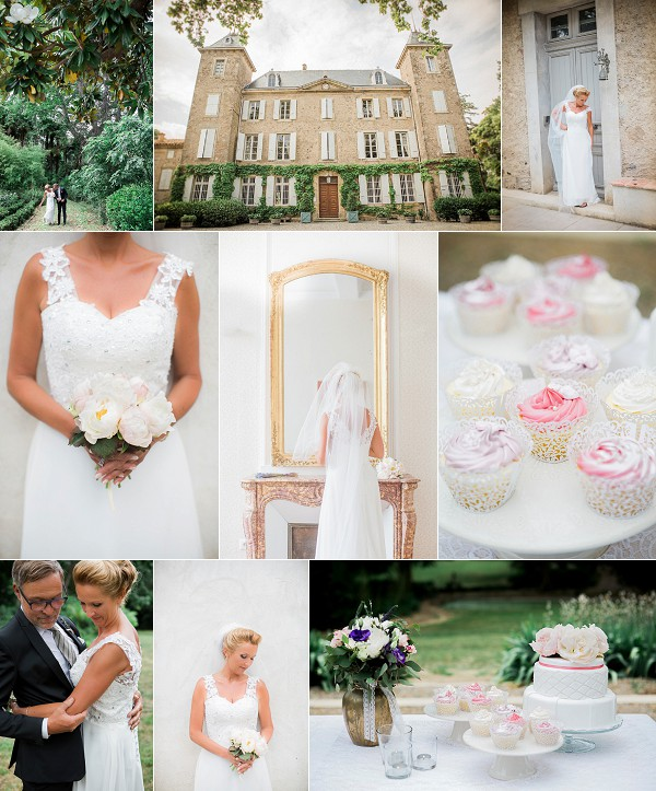 French Vineyard Wedding at Chateau de Blomac Snapshot