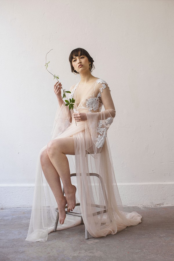 Japanese Inspired boudoir shoot