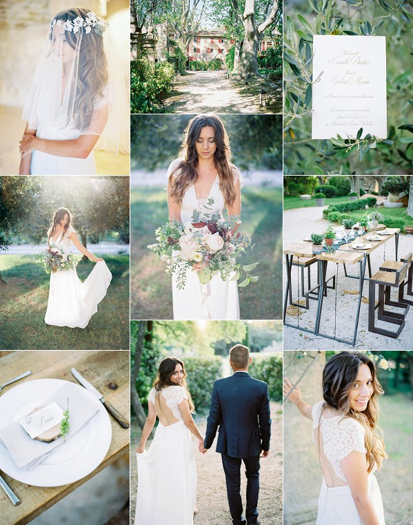 Moulin de la Recense Wedding Styled Shoot Snapshot